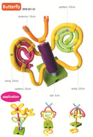 EDU TOYS INDIA Waveplay - Reusable & Bendable Sticks (Made in Korea)