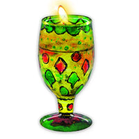 GLASS PAINTED SPARKLING GELCANDLES