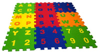Mini Soft Learning Eva Foam Blocks with Alphabet Numbers