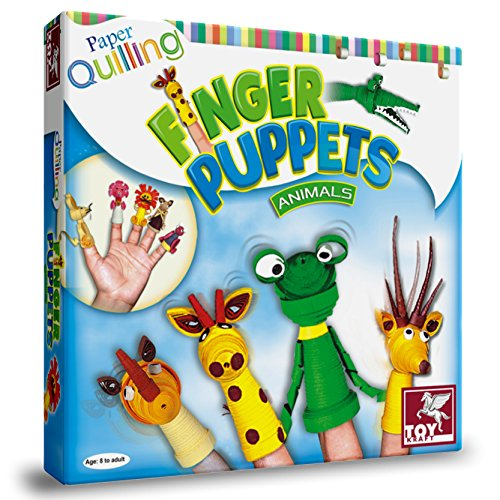 PAPER QUILLING PENCIL TOP - FINGER PUPPETS
