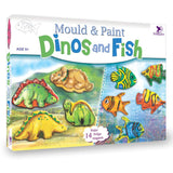 MOULD & PAINT DINOS & FISH