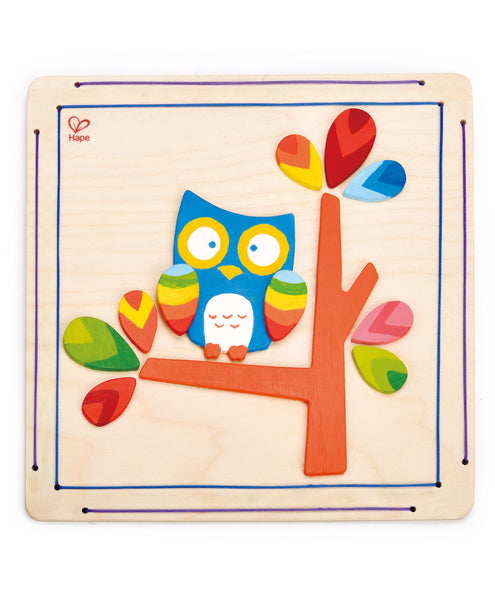Hape Owl Paint And Frame