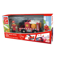 Hape (Fire Truck or Police Car) with Siren