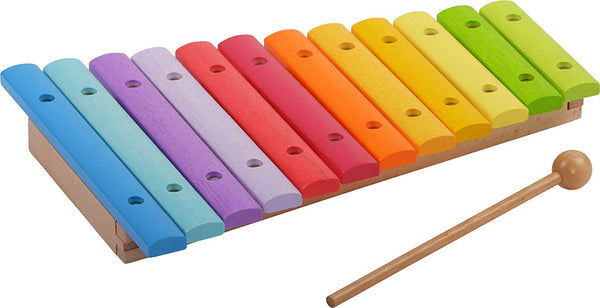 HABA Wooden Xylophone Game | Child-Safe Kids Xylophone - Well Crafted Package for The Classic Xylophone Designed for Presents | Musical