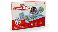 GEOGRAFIKA - Illustrated Map Card Game (Unik Play)