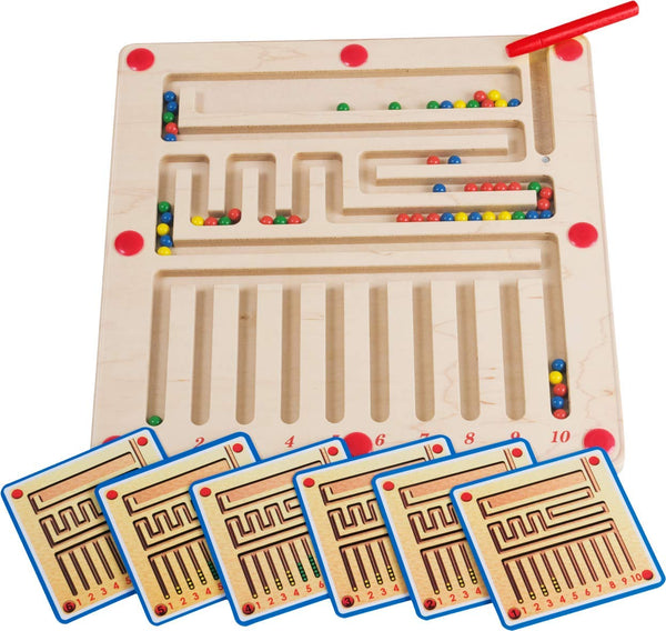"HABA Magnet Game ""Labyrinth"" Developmental Activity and Hand-Eye Coordination Games for 3 Years Kids 