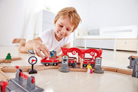 HAPE BUSY CITY RAIL SET