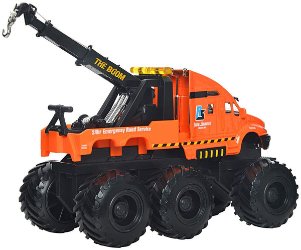 Builder Zone Quarry Monsters Tow Truck