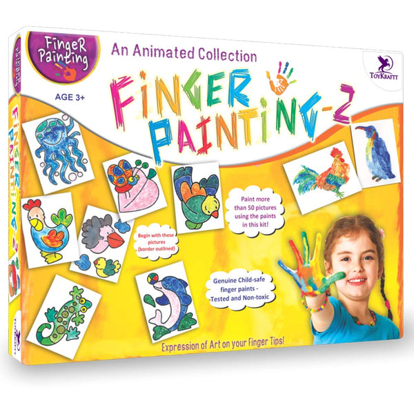 FINGER PAINTING KIT