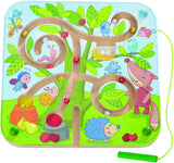 HABA Magnetic Game Set - Country Side Preschool Educational Learning Toys Set for Boys and Girls | Cognitive Development