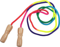 HABA Kids Jump Rope - Adjustable Jump Rope & Skipping Rope Toy - Rainbow Colored | Cognitive Development