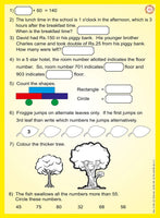 MENTAL MATHS WORK BOOK ( PART 1 )