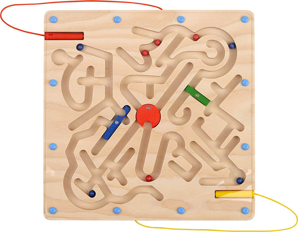 "HABA Magnet Ball ""Labyrinth"" Set for Developmental Activity and Hand-Eye Coordination Games for 3 Years Kids 