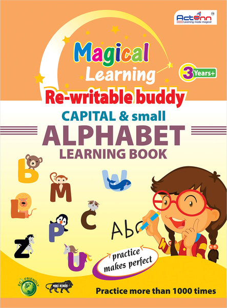 ALPHABET LEARNING WORK BOOK