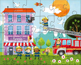 HABA PUZZLE LITTLE FIRE STATION