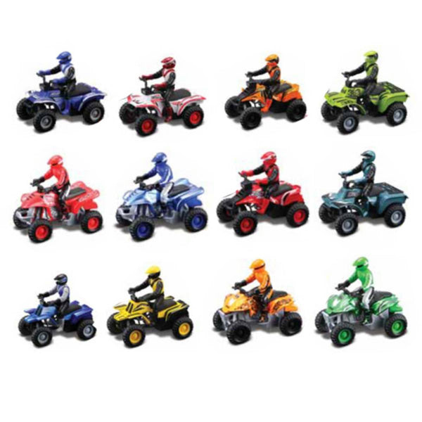 Maisto Fresh Metal 4X4 ATV Grabtech ( Assorted Colours 1 Piece )