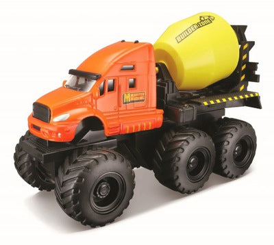 Builder Zone Quarry Monsters Truck Cement Mixer