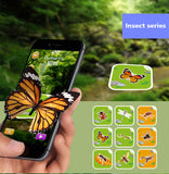 Fancy Zoo 4D Augmented Reality Animal Flash Cards (Set of 68 Cards)