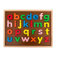 Lower Case Alpha Numeric Puzzle-3 Layer