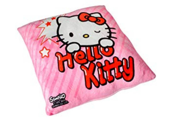HELLO KITTY PINK FACE PLAYTOY PILLOW