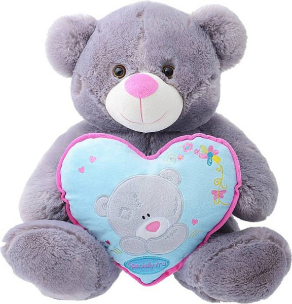 BEAR GREY WITH HEART