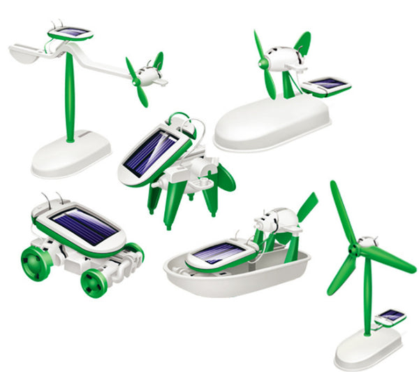 6 IN 1 SCIENCE SOLAR KIT