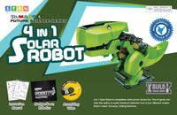 4 IN 1 DIY SOLAR ROBOT