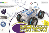 SALT WATER POWERED SPACE VEHICLE
