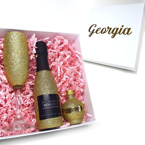 Personalise Prosecco Gift Set