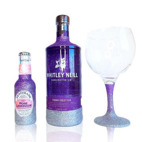 Whitley Neill Parma Violet Gin Glitter cadeauset