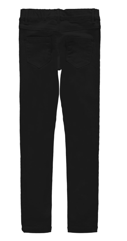 Superstretch twill legging zwart