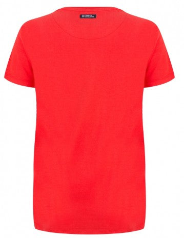 T-Shirt indian rood