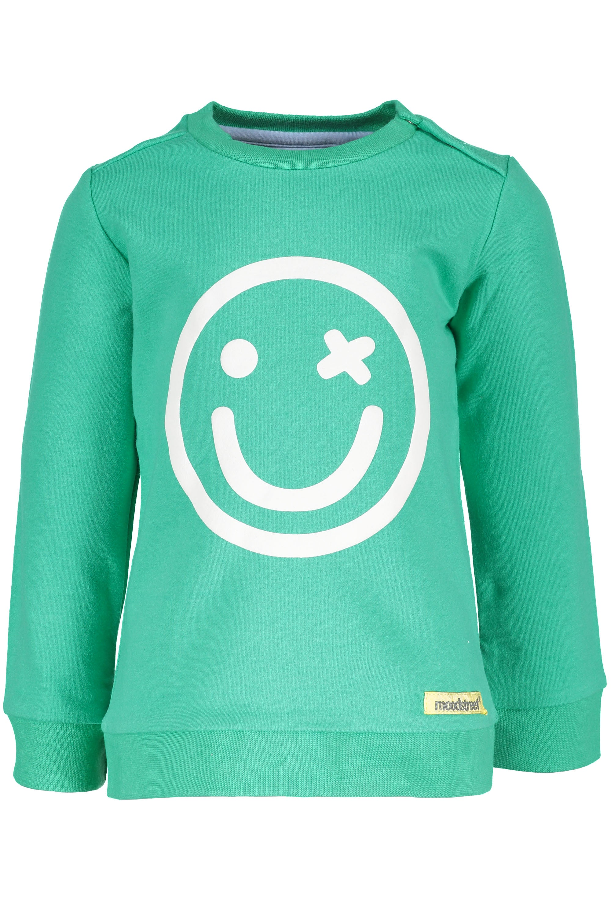 Sweater smiley Groen