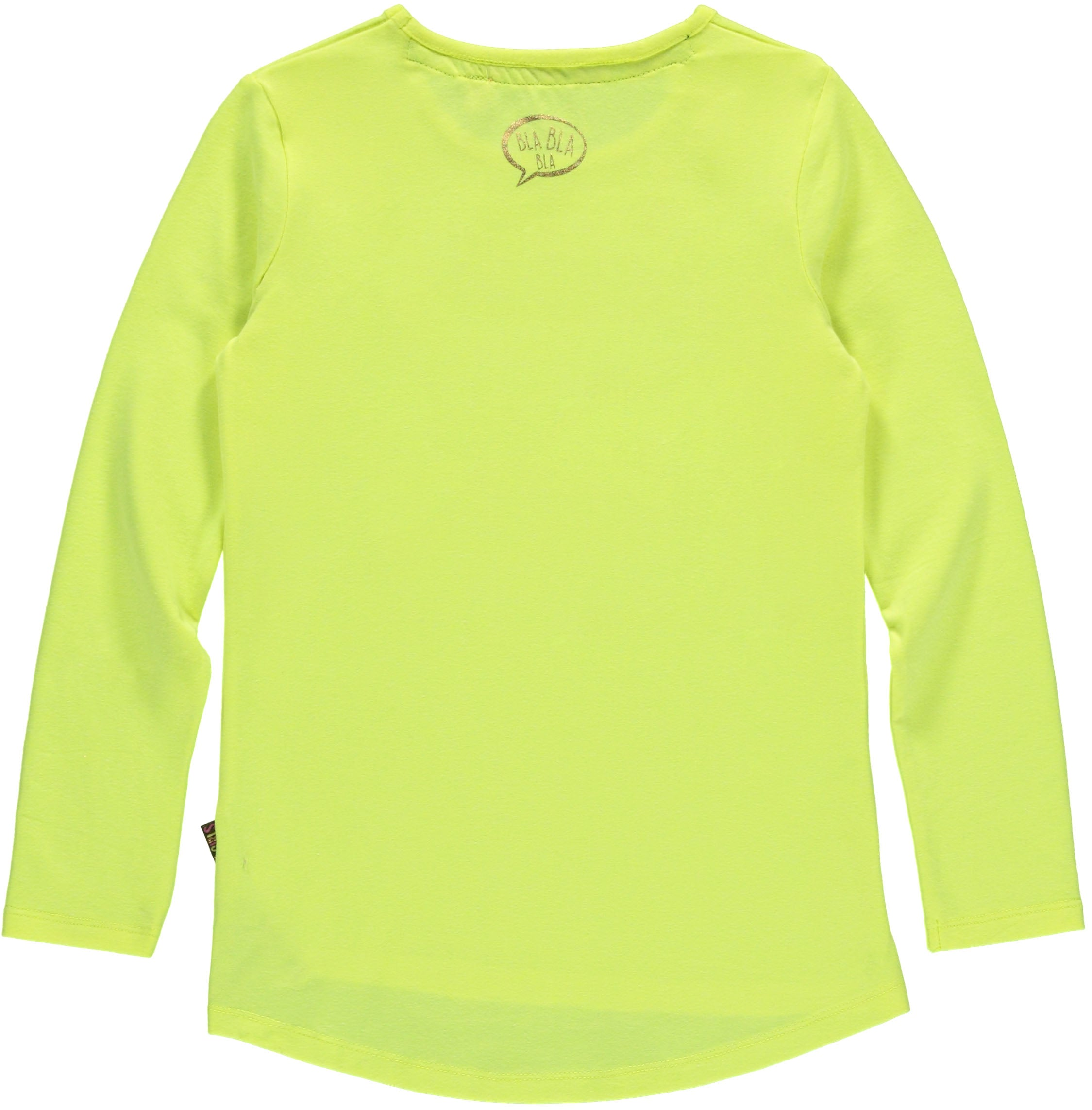 logsleeve t-shirt Bright Yellow