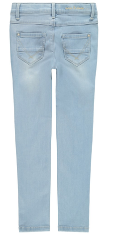 broek Light Blue Denim