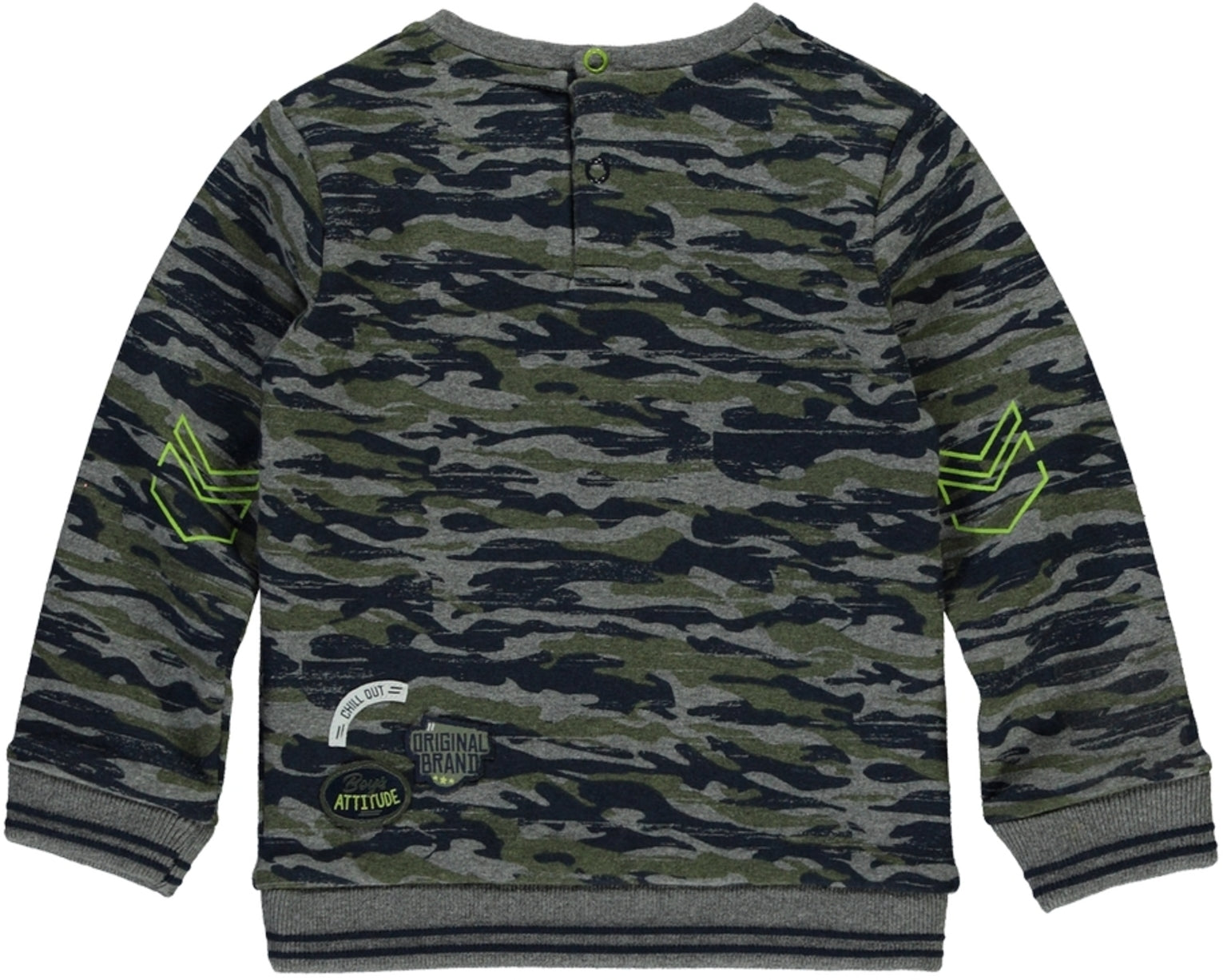 Quapi sweater army green