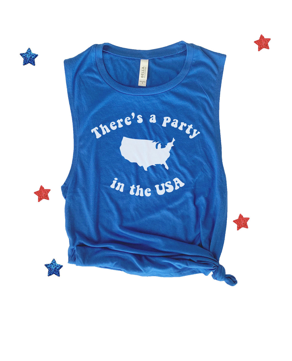 Our super cute 4th of July tee is the perfect patriotic shirt for all your 4th of July festivities! Support your love for America with this cute 4th of July shirt!