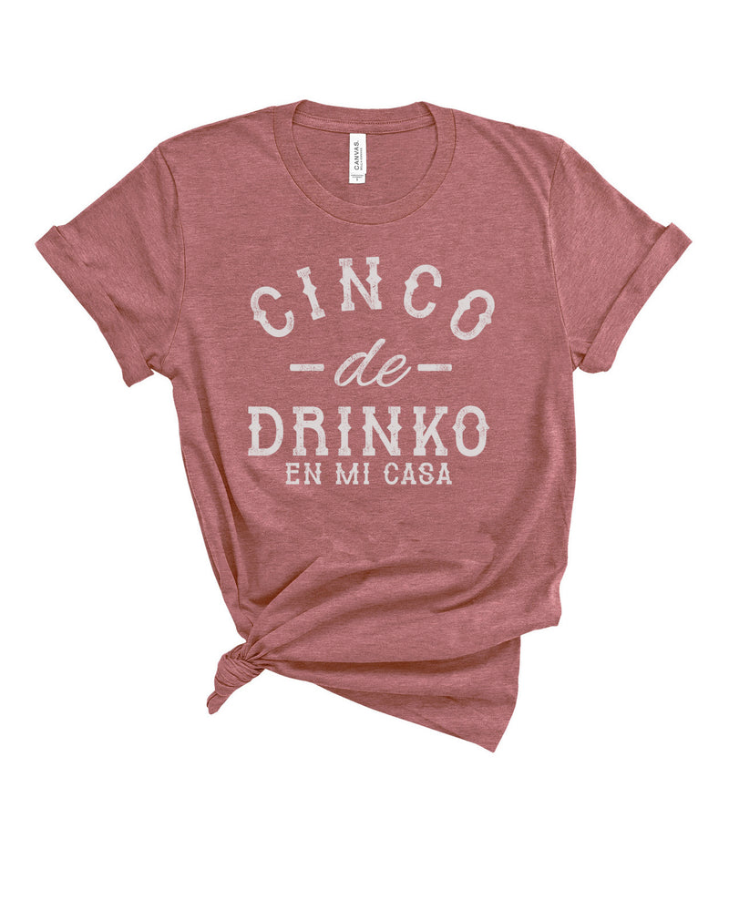 Enjoy all the Tacos and Tequila while you stay at home this Cinco De Mayo! Rock this cute tacos shirt on your next Taco Tuesday adventures with your besties whether it's on zoom or FaceTime!