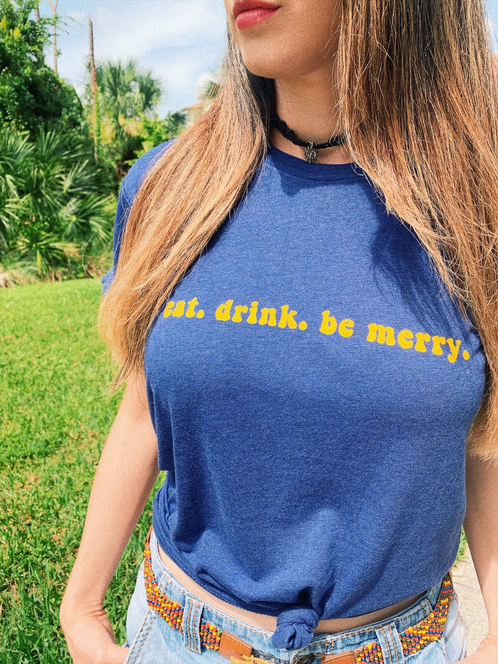 Eat drink and be merry! The perfect Dave Matthews Band Shirt to wear to the concert!