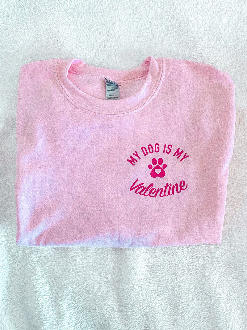 What better Valentine to have than our doggy? Our pet has offered us so much love and affection all through the year. Make your best friend your Valentine this year and wear this cute Valentine's Day shirt to show your love to your furry friend!