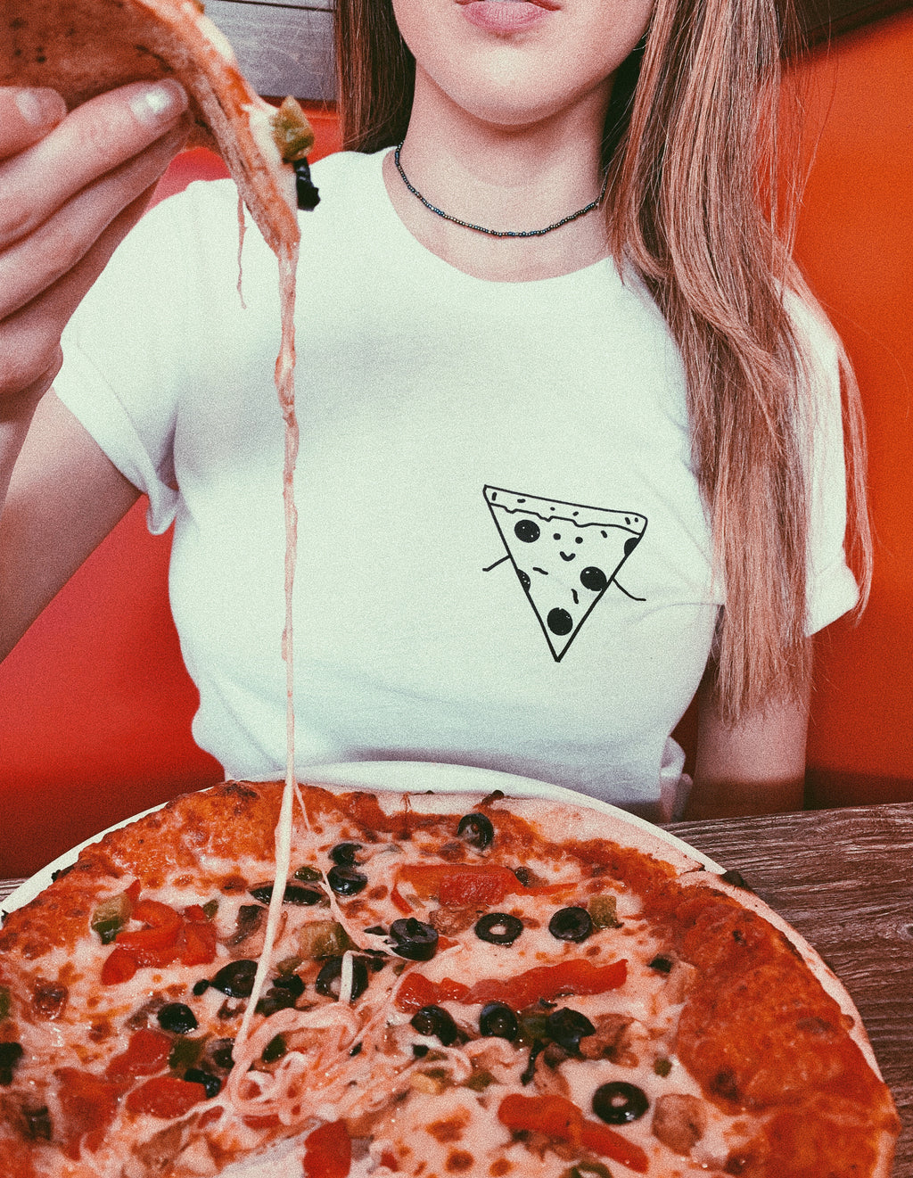 This funny pizza tee is perfect for all the pizza lover in the world! This pizza t shirt shows that you can never go wrong with pizza. Pizza is life!