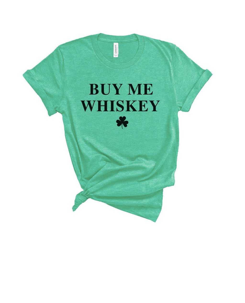 This funny St. Patrick's Day shirt is a great shirt to let people know that you love Whiskey and they need to buy you some! Enjoy some Irish whiskey in this cute St. Patty's Day shirt!