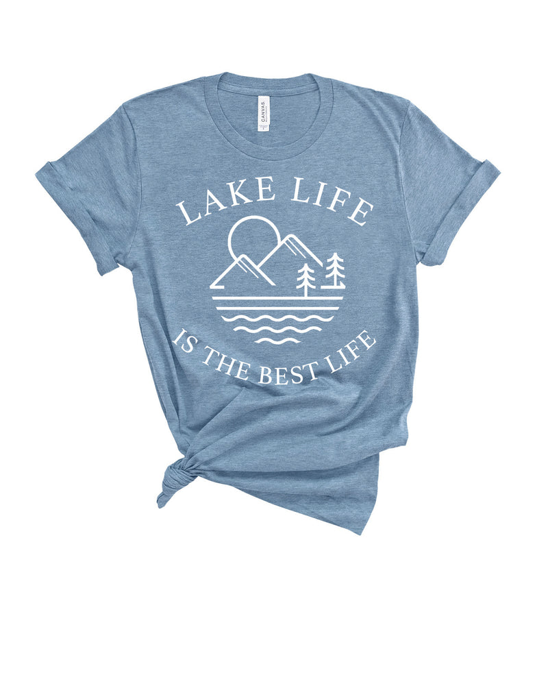 LAKE LIFE IS THE BEST LIFE TEE