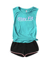 STAY FIT TANK TOP (READY TO SHIP)