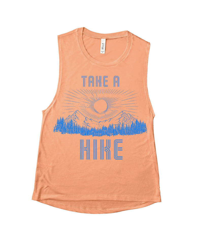 TAKE A HIKE MUSCLE TANK