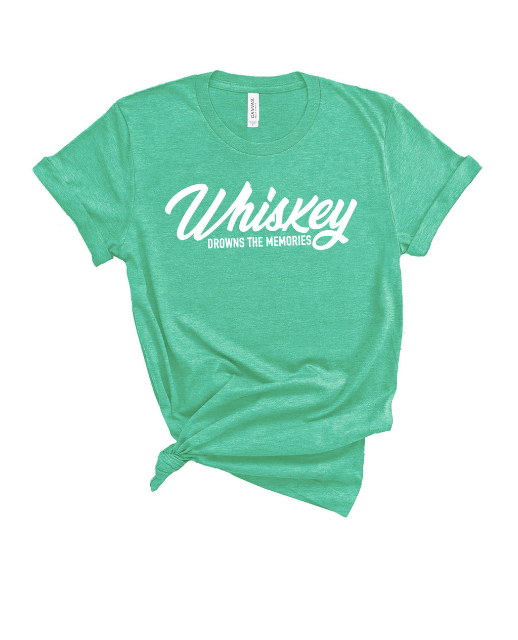 WHISKEY DROWNS THE MEMORY TEE