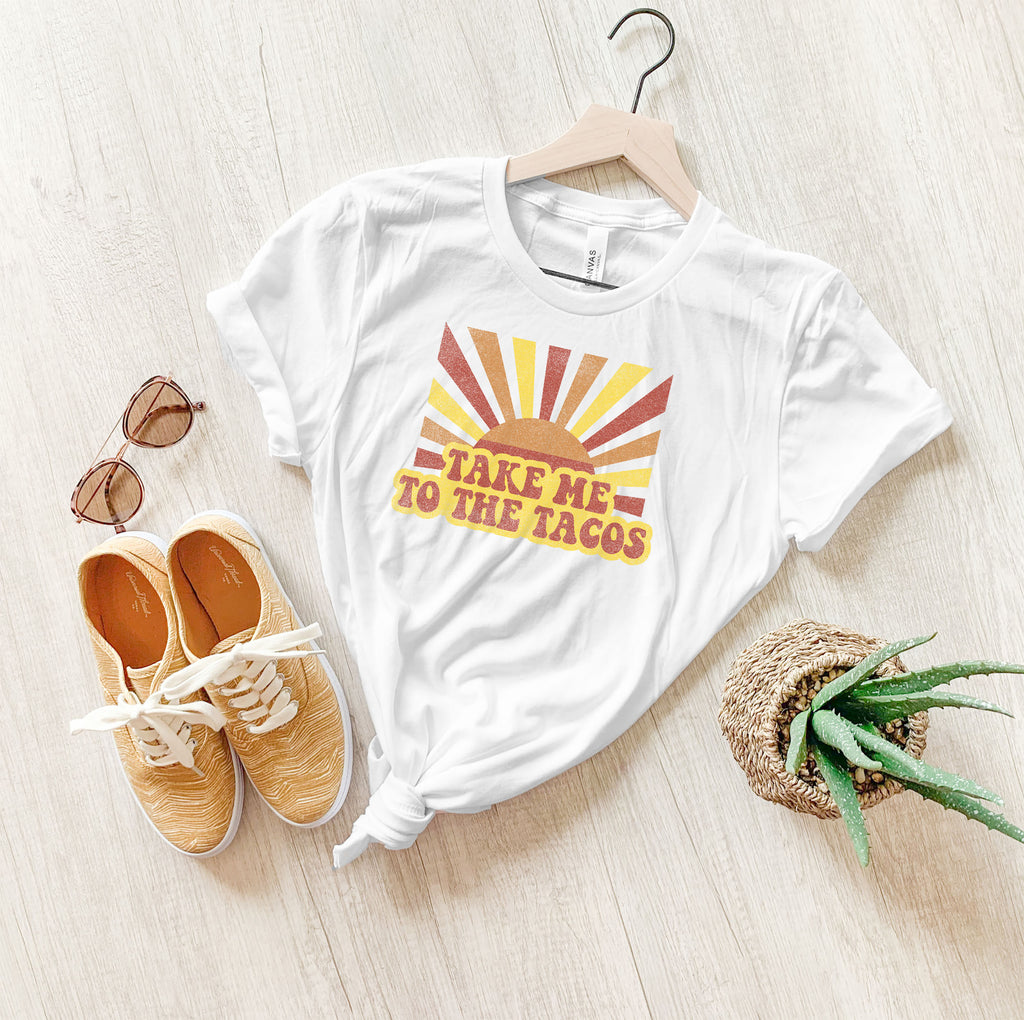 You can never have too many tacos! Wear this cute taco tee on your next Taco Tuesday adventure!