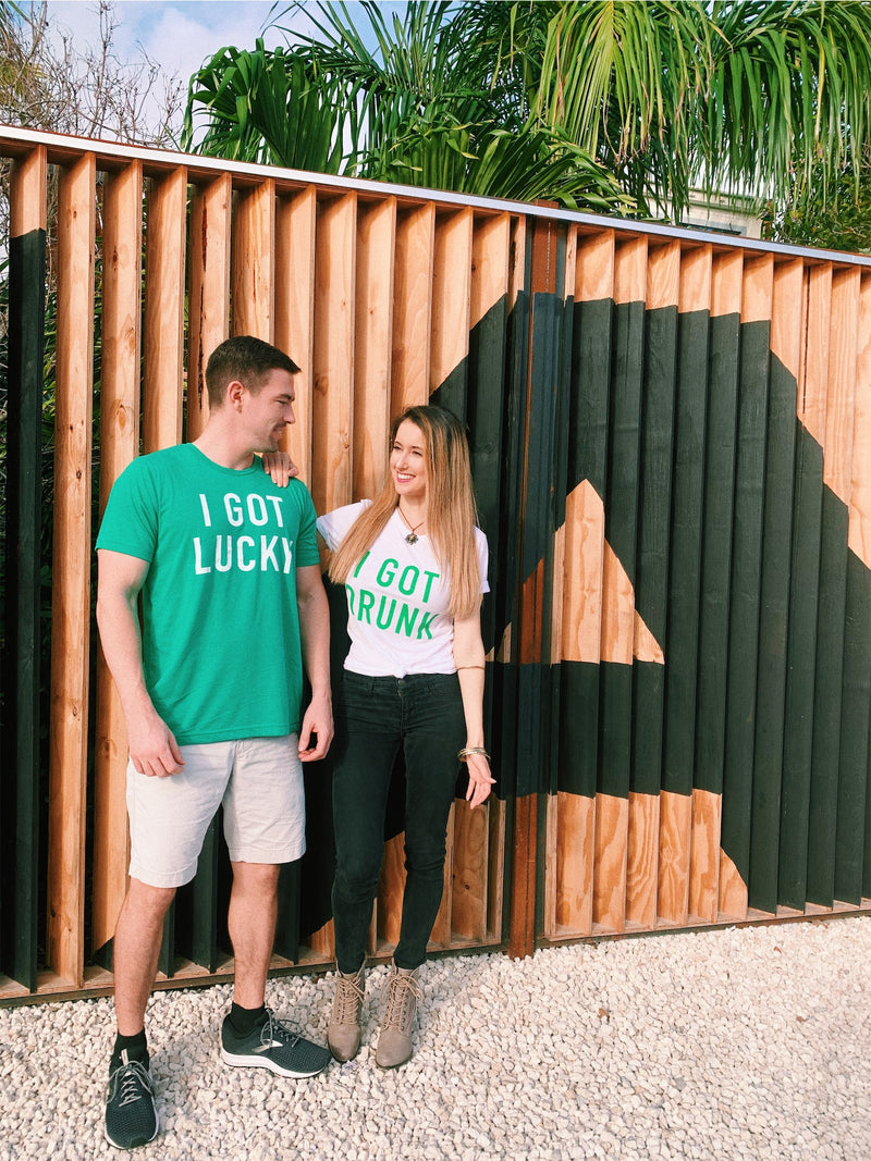 Rock these cute St.Patrick's Day couples tees at all your St Pattys Day festivities!