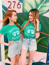 Celebrate this St.Patrick's Day by enjoying a nice cold beer that is not only tasty but Magically Delicious! This funny St. Patrick's Day shirt is a great shirt to show that not only are you there to have a good time but you're also ready to get shamrocked