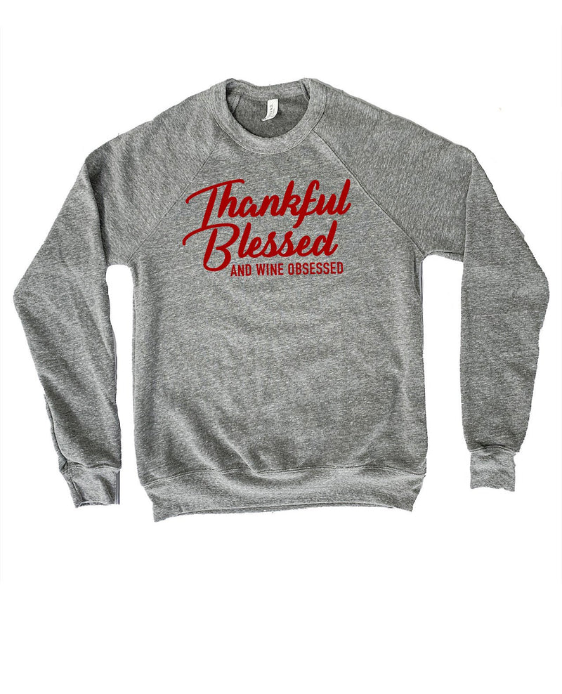 Be thankful this season with this cute Thanksgiving sweatshirt! There's nothing more I'd rather be thankful for than a nice big glass of wine !